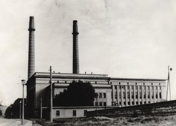 ehem. Heizkraftwerk 1953/54