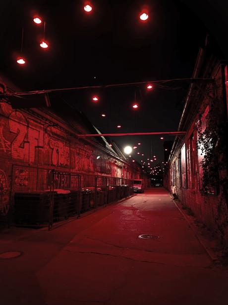 empty street during Corona-Lockdown 04/2020