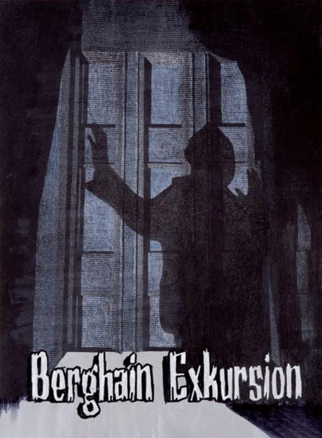 Berghain Novelle 2011, Zeichnung von Alekos Hofstetter & Florian Göpfert