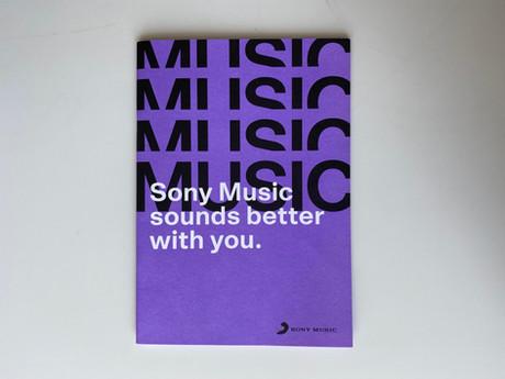 Sony Music Welcome Broschüre, Seite 8 - 11, 10/2019
