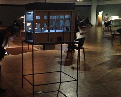 Ausstellung Kultur:Stadt, Modell von Matias Bechthold