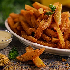 Gunpowder Crusted Idli Fries
