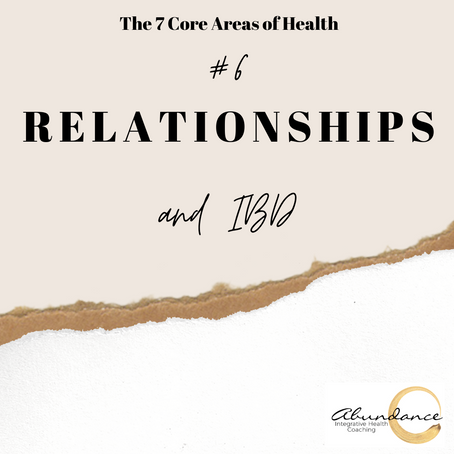 Relationships and IBD