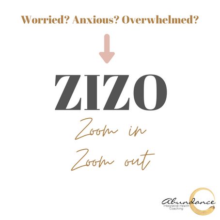 Worried? Anxious? Overwhelmed? Try ZIZO