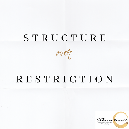 Structure Over Restriction