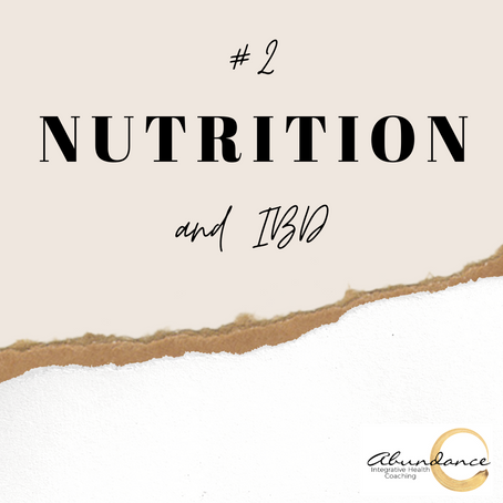 Nutrition and IBD
