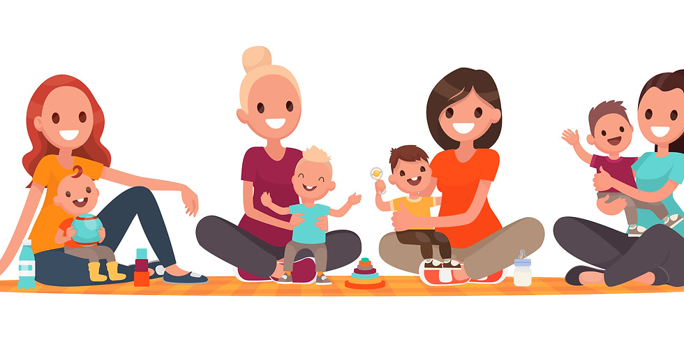 Mommy and Me Online Program 6 Weeks - Wednesdays August 4, 2021
