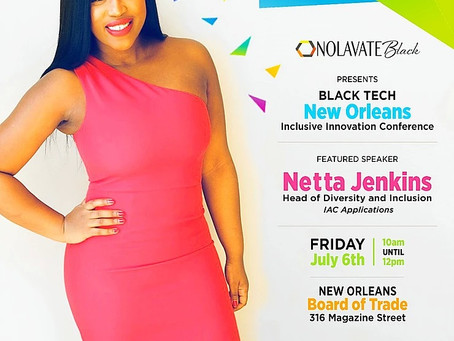 Netta Jenkins Highly Sought After Speaker For Essence Festival Weekend Tech Events!