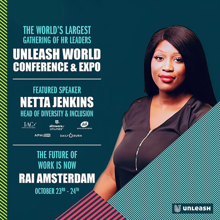 Netta Jenkins Speaking At Unleash Conference In Amsterdam!