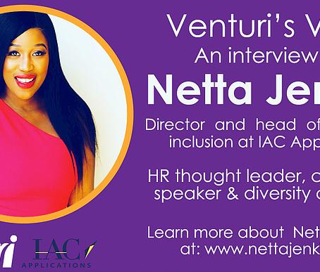 Netta Jenkins on Venturi's Voice Podcast