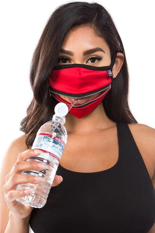 Zipper Face Mask