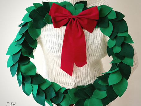 DIY: Ugly Sweater Wreath