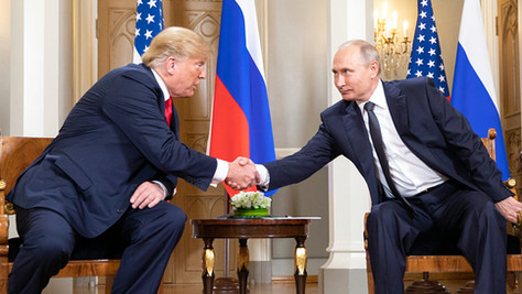 When Trump conveniently isn't Putin's puppet
