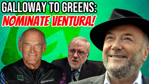 George Galloway lambastes Howie Hawkins, endorses Jesse Ventura