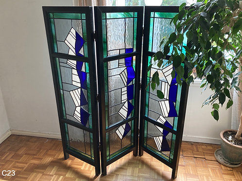 One Off Stained Glass Screen