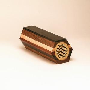 • Bluetooth Wooden Speaker