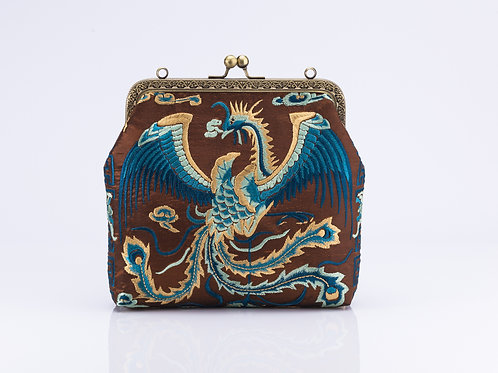 Traditional Embroidered Bag with Phoenix detail