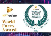 Winner of the World Forex Award - The Best Mobile App