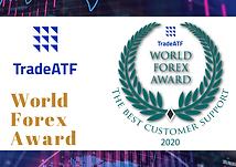 Winner of the World Forex Award - The Best Customer Support
