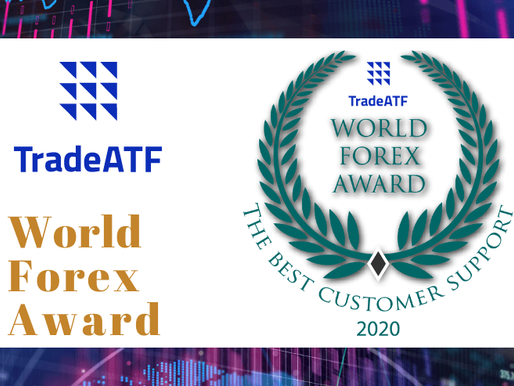 Winner of the World Forex Award - The Best Customer Support