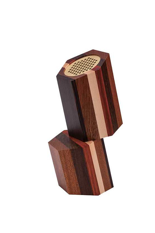 Stacked Wooden Speakers