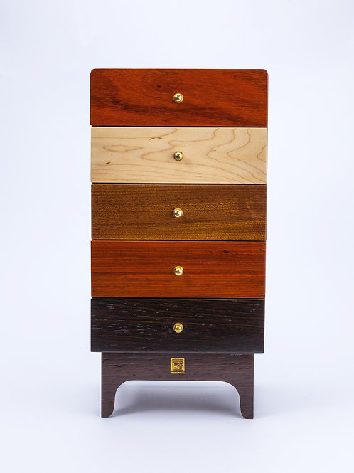 Five-drawer vertical fine foot fashion desktop furniture