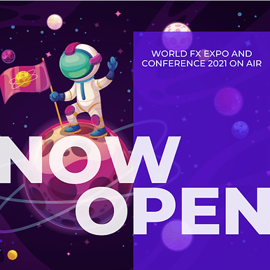 Registration for World Forex Expo 2021 On-Air is now open
