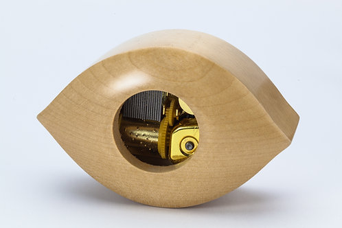 Lemon Shape Wooden Music box