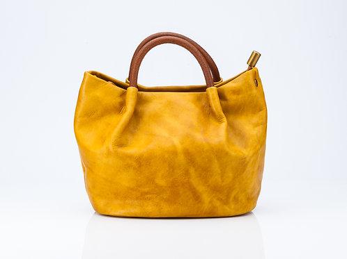 Ruched Mini Tote Bag