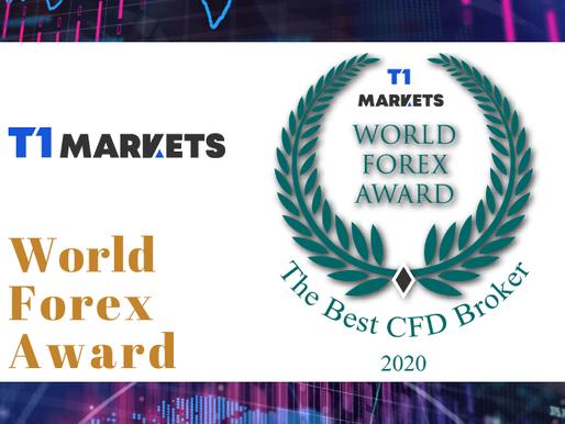 Winner of the World Forex Award - The Best CFD Broker