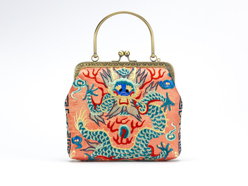 • Stylish Traditional Dragon Detail Bag