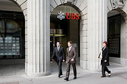 UBS - best third quarter for a decade, + 99% in net profit