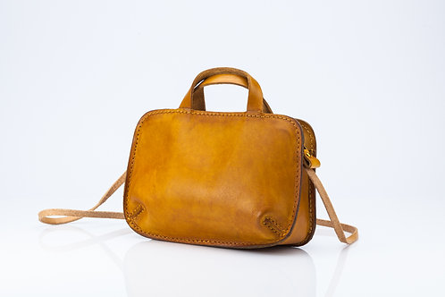Over the Shoulder Tan Bag