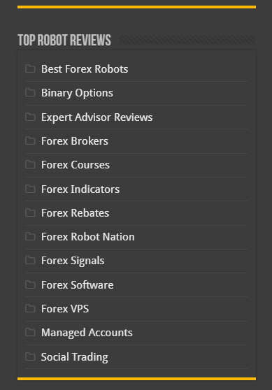 Forex Robot Nation, World Forex Award