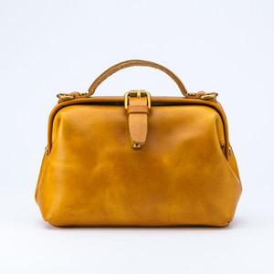 • Vintage Tan Leather Bag