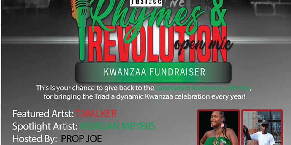 RHYMES & REVOLUTION: KWANZAA FUNDRAISER