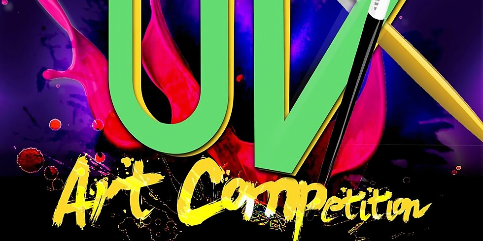 BATTLE OF THE BRUSHES: UV ART COMPETITION
