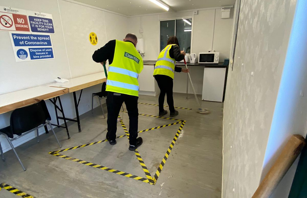 CleanTEC What Does Lockdown Mean For Your Cleaning Services Mopping Floors
