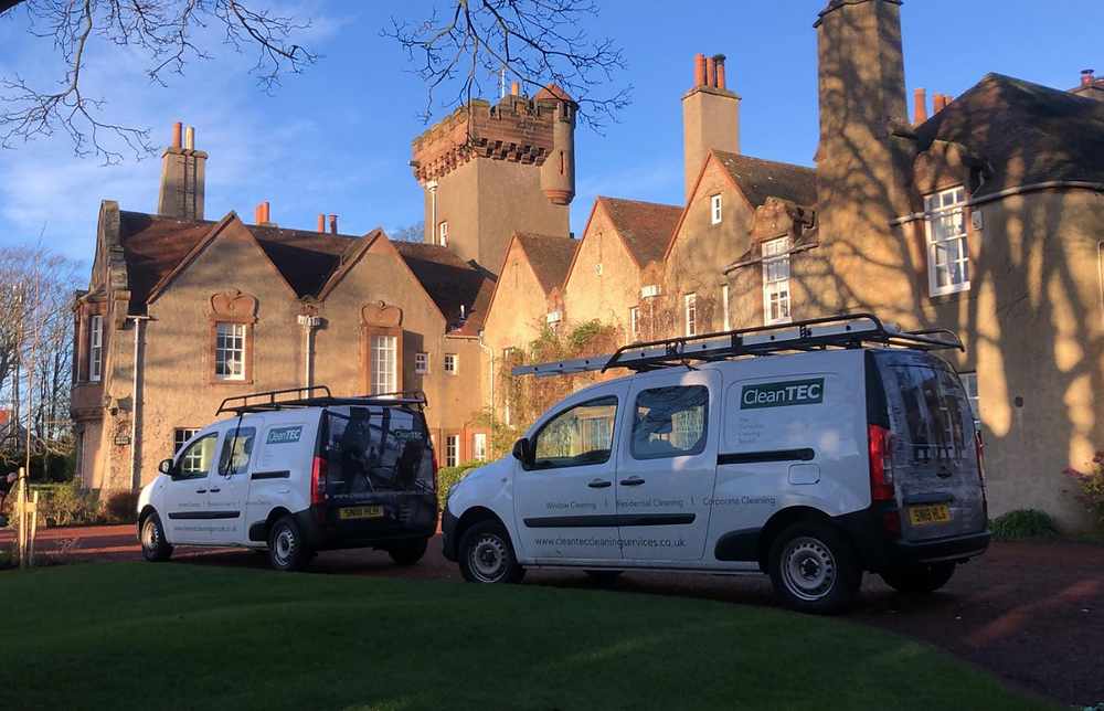 CleanTEC What Does Lockdown Mean For Your Cleaning Services Vans Parked