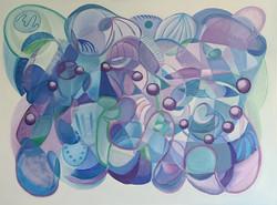 On The Other Side Of Blue, Deborah Walmer