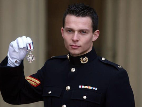 Acting Corporal Bradley Malone CGC, Royal Marines