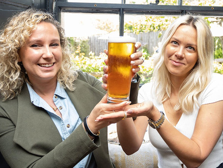 WORLD RECORD PINT OF BEER
