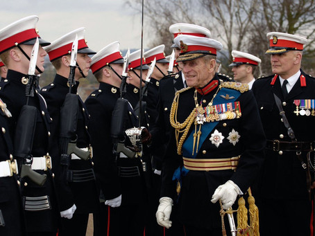 The Captain General of the Royal Marines visits Four Five Commando