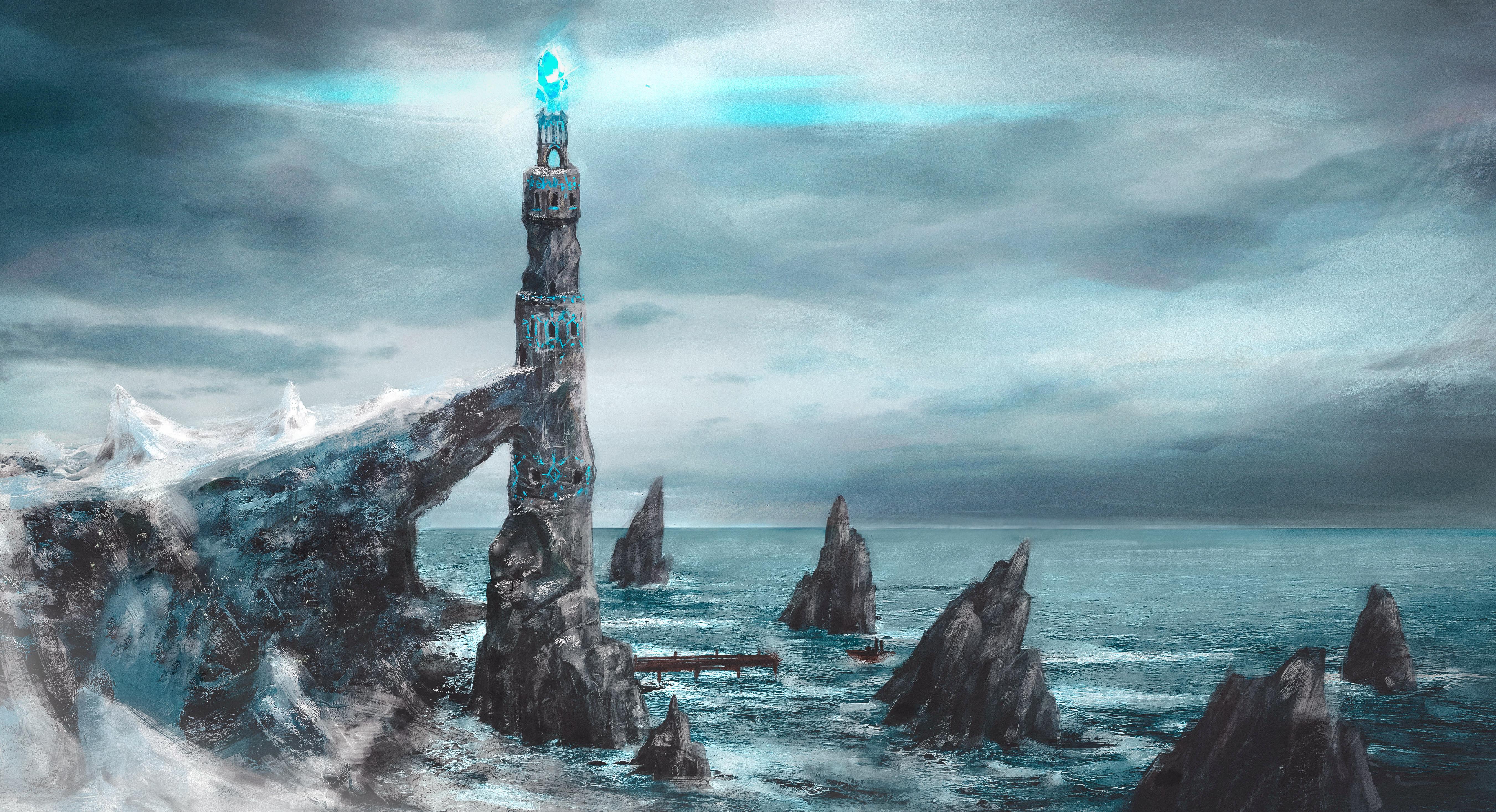Концепт башни Сим