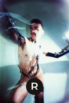 "Oscar Axel Ramirez in ""Nudity is not porn"" by Rafael Moncada"