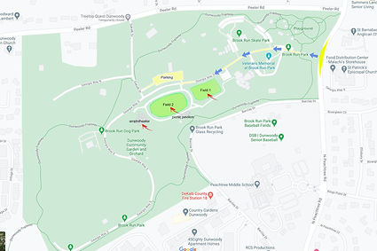 Brook Run Park Location