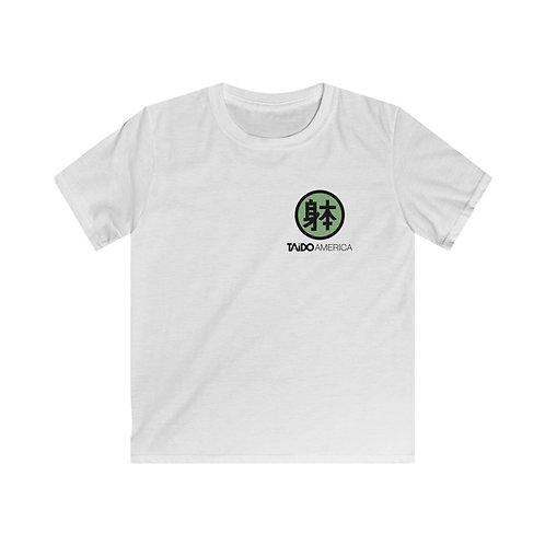 Kids Tee - Green Logo