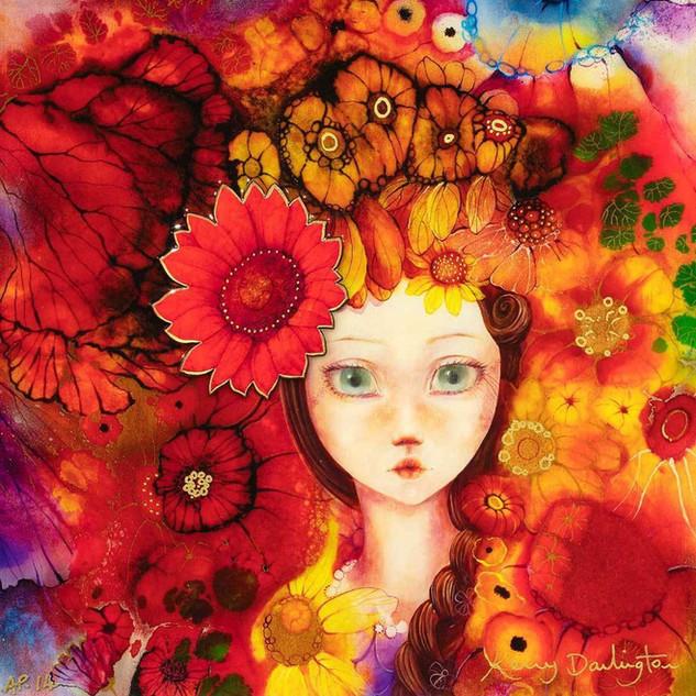 FLOWER GIRL - SUNFLOWER