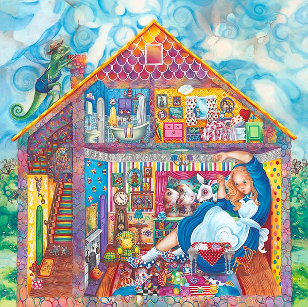 ALICE IN WILLIAM RABBITS HOUSE