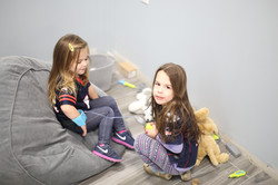 Testing out the kids waiting area  | PMAH Vet Hospital in South Acton MA